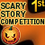 1st place Scary Story Competition