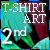 2nd place T-Shirt Art Contest 2012