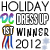 1st place in Diva Dress Up - Christmas