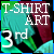 3rd place T-Shirt Art Contest 2012