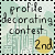 2nd Place April Forum Profile Decorating Contest
