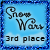 3rd Place Snow Wars Rolling Snowball Game 2016