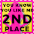 2nd Place You know you like me 2018