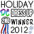 2nd place in Diva Dress Up - Christmas