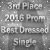 3rd Place in Best Dressed Single Prom 2016