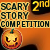 2nd place Scary Story Competition