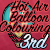 3rd place in the HotAir Balloon Coloring Contest