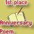 1st Place Anniversary Poem 2013