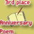 3rd Place Anniversary Poem 2013