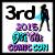 3rd Place Diva Chix Comic Con 2015