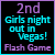 2nd in Girls Night Out in Vegas