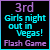 3rd in Girls Night Out in Vegas