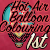 1st place in the HotAir Balloon Coloring Contest