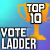 10th Place in Vote Ladder Season 25