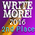 2nd in WriteMore! 2016