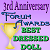 3rd Anniversary Forum Awards: Best Dressed Doll