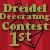 1st place in Dreidel Decorating Contest