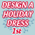 1st Place 2014 Design a Holiday Dress
