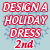2nd Place 2014 Design a Holiday Dress