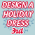 3rd Place 2014 Design a Holiday Dress