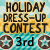 3rd place in Holiday Dress Up Contest