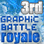 3rd in 2015 Graphic Battle Royale
