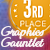 Graphics Gauntlet 3rd place