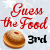 3rd Place in Guess the Food Holiday 2012