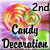 2nd Place Halloween Candy Decoration 2015