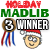 3rd Place Holiday Mad Libs