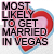Most likely to get married in Vegas