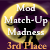 3rd Place in Mod Match Up Halloween Competition