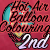 2nd place in the HotAir Balloon Coloring Contest