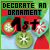 1st Place 2014 Decorate an Ornament