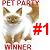 1st Place Pet Party Contest