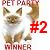 2nd Place Pet Party Contest
