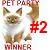 2nd Place Pet Party Contest