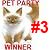 3rd Place Pet Party Contest