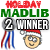 2nd place in the Holiday Mad Libs Contest