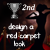 2nd Place in Design a Red Carpet Look
