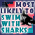 Prom award: most likely to swim with sharks