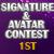 1st in Prom Sig/Av Contest