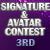 3rd in Prom Sig/Av Contest