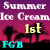 1st Place Ice Cream Design Flash Game