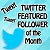 Featured Follower of the Month - Twitter