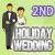 2nd place in the Holiday Wedding Flash Game
