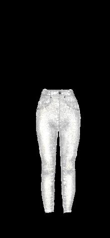 High Waist Jeans W