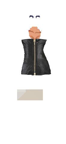 zip leather