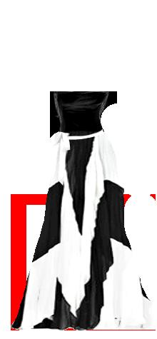 long bw dress