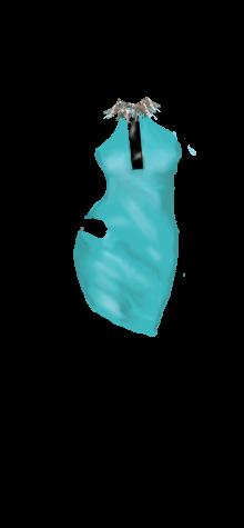COCO slick aqua